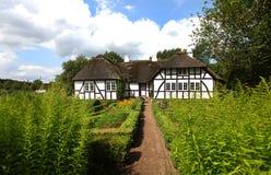 Traditional Danish timber farmhouse Royalty Free Stock Photo