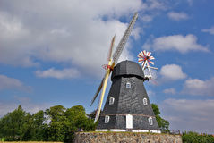 Traditional Danish windmill Stock Photos