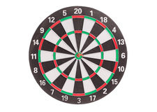 Traditional dart board. Stock Photos