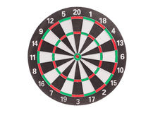 Traditional dart board. Stock Images