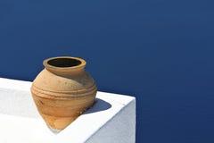 Traditional decoration at Santorini, Greece Stock Image