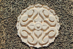 Traditional decorative element in South India Royalty Free Stock Image