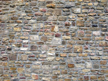 Traditional Decorative Stone Wall. Royalty Free Stock Photos
