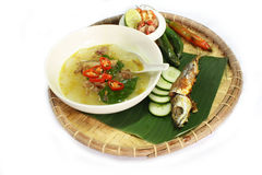 Traditional delicacies of kadazandusun Stock Photo