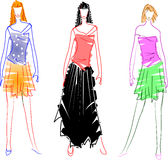 Traditional Design Sketches Royalty Free Stock Photography