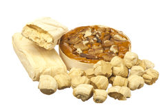 Traditional dessert of Ecuador Stock Images