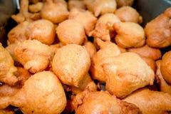 Traditional dessert, ecuadorian doughs fried Royalty Free Stock Photography