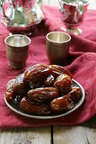 Traditional  dessert sweet dried dates Royalty Free Stock Photography