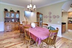 Traditional diningroom Stock Image