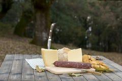 Traditional Dinner of Sardinia Royalty Free Stock Image