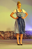 Traditional dirndl dress Royalty Free Stock Images