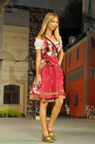 Traditional dirndl dress Stock Image