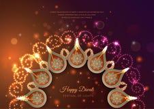 Diwali Festival Background royalty free illustration