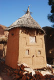 A traditional building in the Dogon village of Songo, Mali, Afri Stock Photos