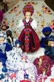 Traditional Dolls, Budapest Royalty Free Stock Photo