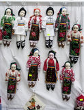 Traditional dolls Royalty Free Stock Photography
