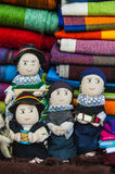 Traditional Dolls on the Indian market Stock Photo