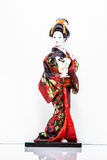 Traditional dolls of Japan women Stock Images