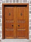 Traditional Door. View of a traditional door in Ankara, Turkey Stock Photo