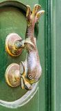 Traditional door handle,  Malta Stock Photography