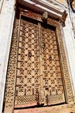 Traditional door. Jaisalmer Fort. Rajasthan. India Stock Images