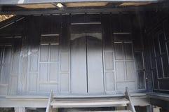 Traditional door of Masjid Kampung Laut at Nilam Puri Kelantan, Malaysia Royalty Free Stock Image