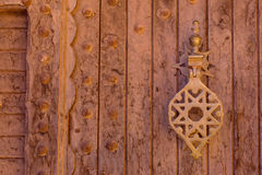 Traditional door in Morocco, Africa Royalty Free Stock Photography