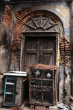 The traditional door of old kolkata Royalty Free Stock Photos