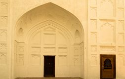 Traditional Door in Red Fort India Stock Images