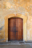 Traditional Door in San Juan Puerto Rico Royalty Free Stock Images