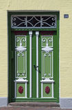 Traditional door in Schleswig Stock Photography