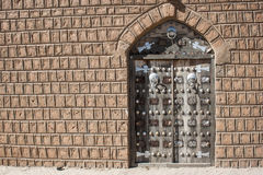 Traditional door, Timbuktu. Stock Images