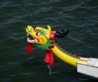 Traditional Dragon Boat Decoration in Taiwan Royalty Free Stock Images