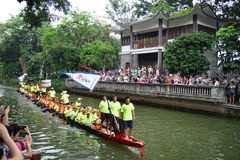 Traditional Dragon boat in Guangzhou Royalty Free Stock Photo
