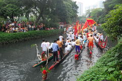 Traditional dragonboat Royalty Free Stock Photos