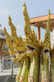 Traditional dragons at Thailand Pavilion, EXPO 2015 Milan Royalty Free Stock Images