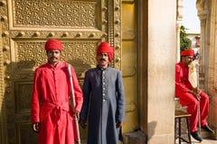Traditional dress, Rajasthan, India Royalty Free Stock Photos