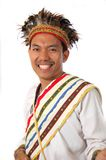 Traditional dress from Toraja. Man with traditional dress from Toraja Indonesia stock image