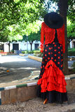 Traditional dress for women on sale in Sevilla Stock Images