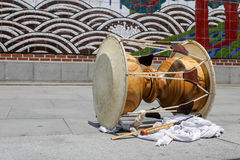 Traditional drum Stock Image