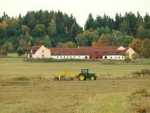 Traditional dry grass. South Bohemia Stock Photo