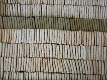 Traditional Dry Manioc Biscuits Royalty Free Stock Photo