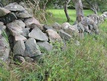 Traditional drystone wall Stock Photo