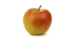 Traditional Dutch apple called goudrenet Royalty Free Stock Photo