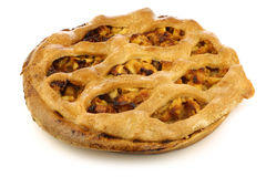 traditional Dutch apple pie Royalty Free Stock Image
