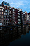 Traditional Dutch Architecture Houses Royalty Free Stock Photos