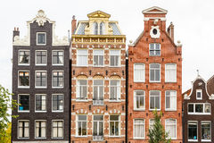 Traditional dutch buildings, Amsterdam Stock Images