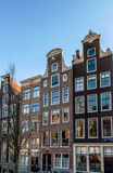 Traditional dutch buildings, Amsterdam Royalty Free Stock Image