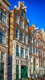 Traditional dutch buildings, Amsterdam Royalty Free Stock Photography