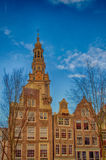 Traditional dutch buildings, Amsterdam Stock Photography